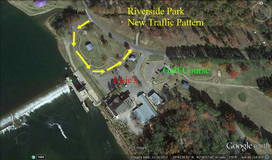 New Traffic Pattern For Riverside Park City Of Batesville