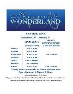Skating Rink Promo Flyer